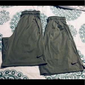 2 pair of Nike Athletic Shorts